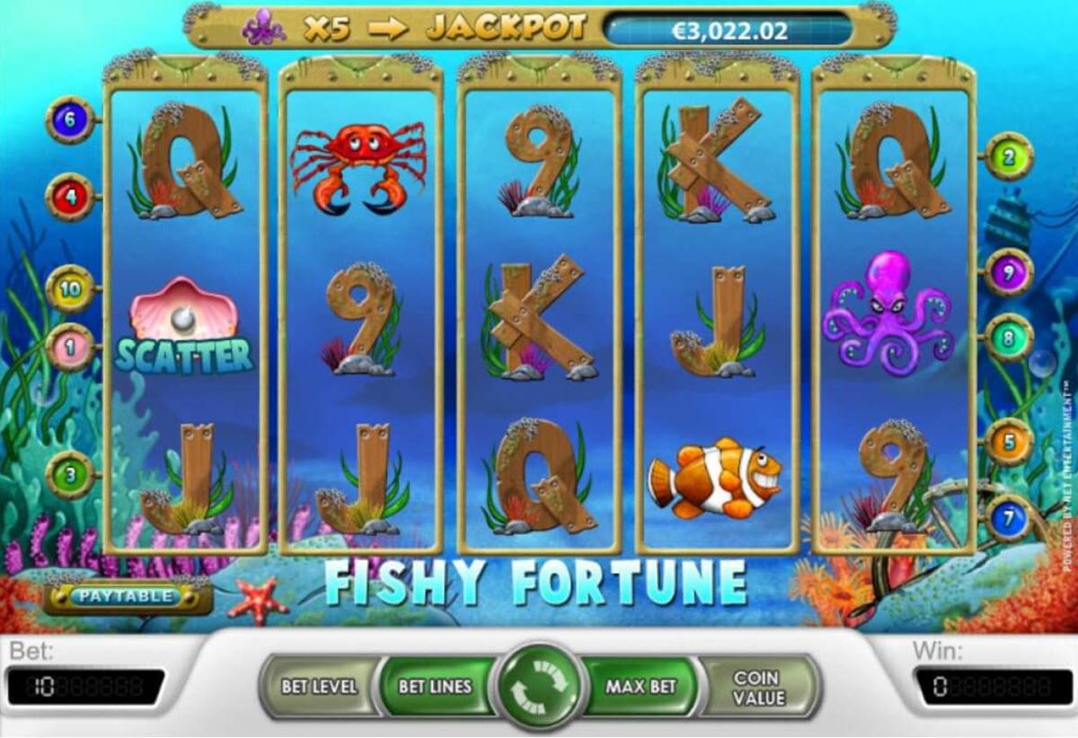 Fishy Fortune spelautomat